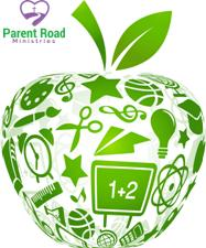 School Themed Apple
