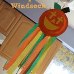 Christian Pumpkin Windsock