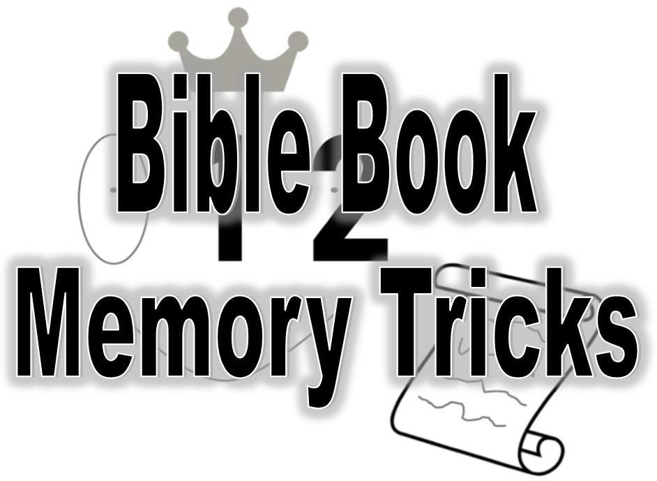 Kids Bible Book Memory Plan