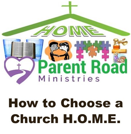 How to Choose a Church H.O.M.E.