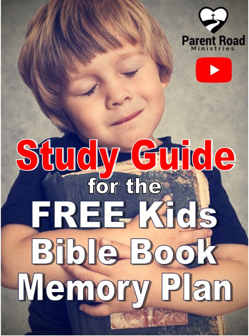 Study Guide for the Kids Bible Book Memory Plan