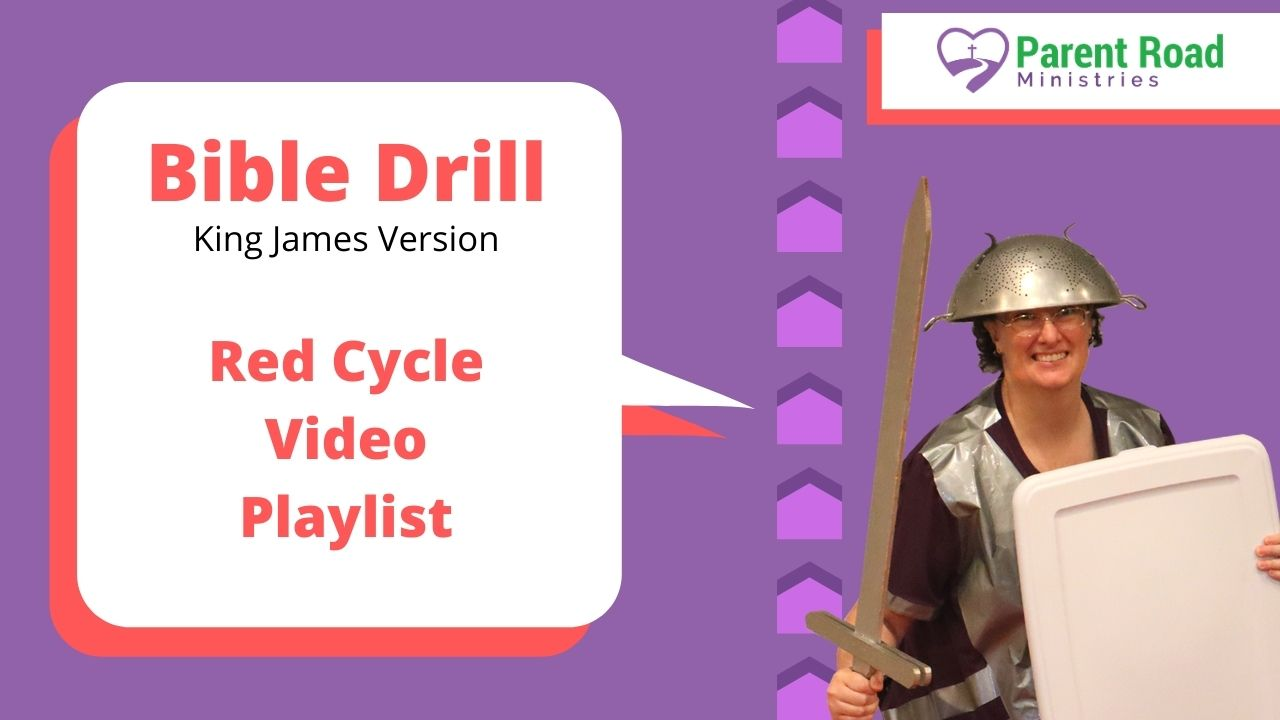 Bible Drill Red Cycle Video Playlist (KJV, ESV, CSB)