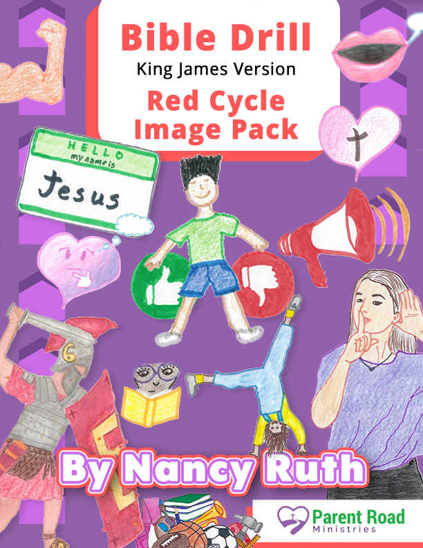 KJV Bible Drill Red Cycle Image Pack