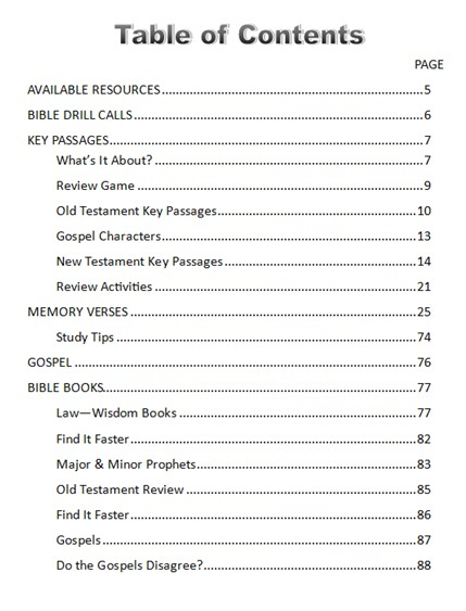 CSB Bible Drill Red Cycle Study Guide