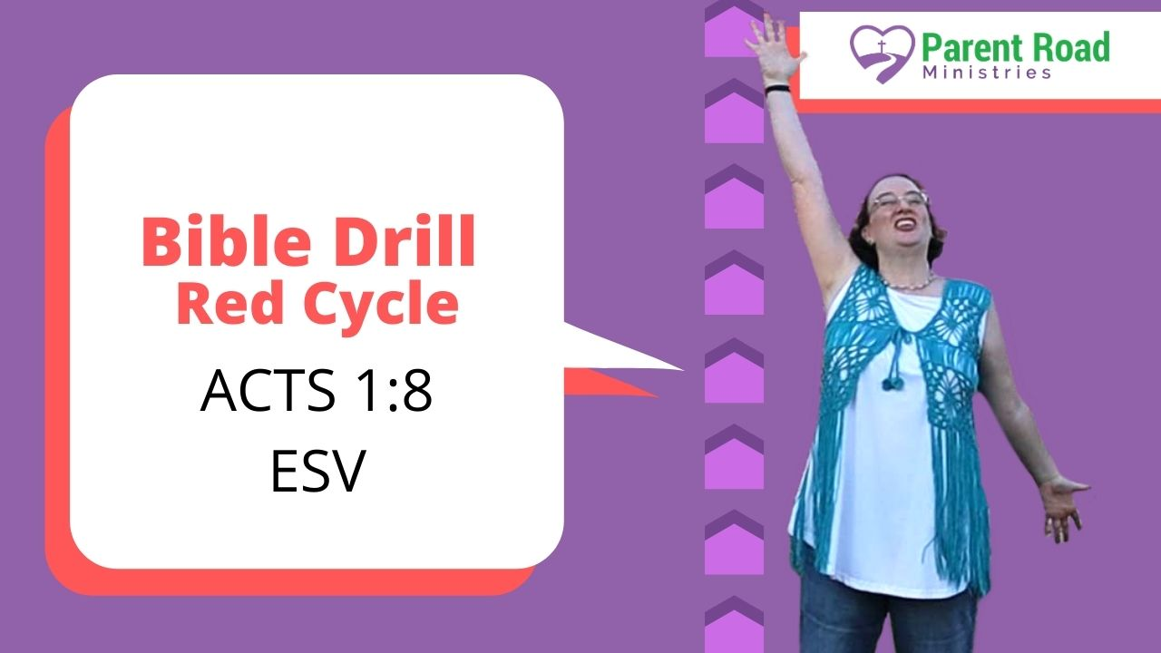 KJV Bible Drill Red Cycle Video Playlist